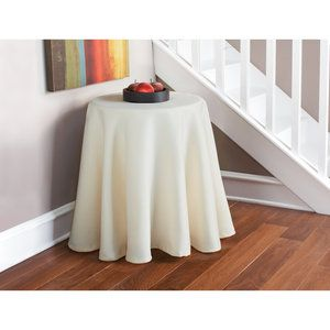 Mainstays Round Twill Table Cover   Walmart.com