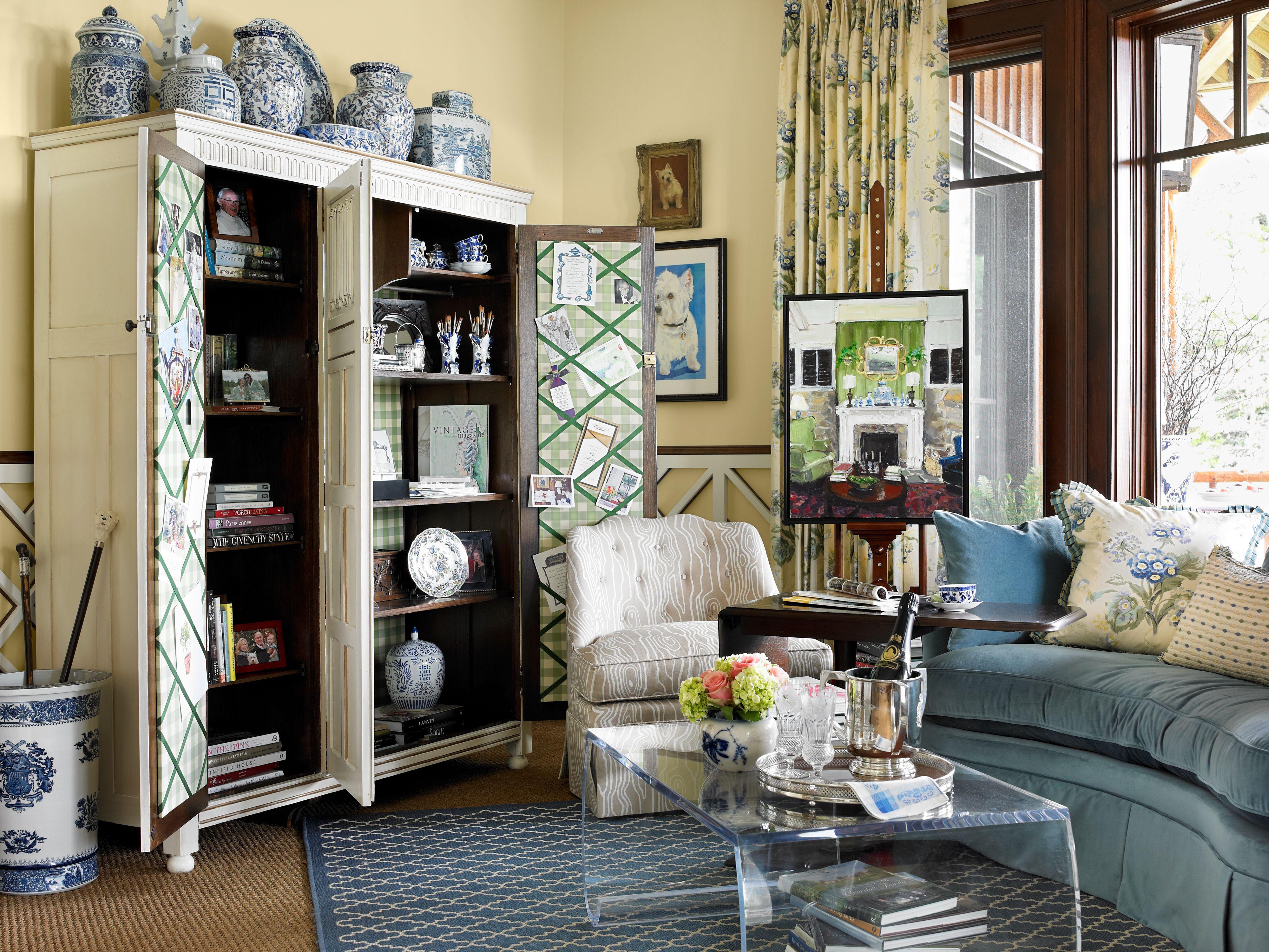 North Carolina Interior Designer Kathryn Greeley Blue
