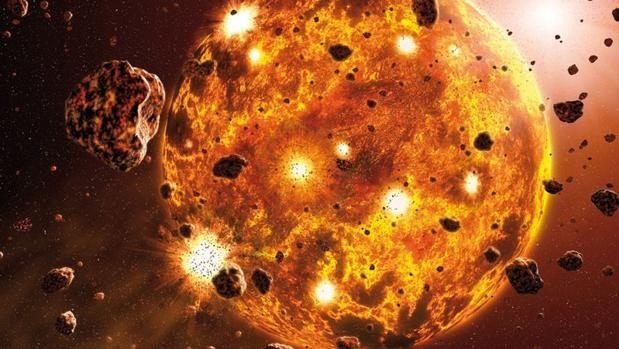 La Luna no se hizo de golpe Probablemente desde que descubrió la Luna en el cielo, el ser humano se ha preguntado qué fuerza la llevó hasta allí y cómo se formó. En la actu... http://sientemendoza.com/2017/01/10/la-luna-no-se-hizo-de-golpe/