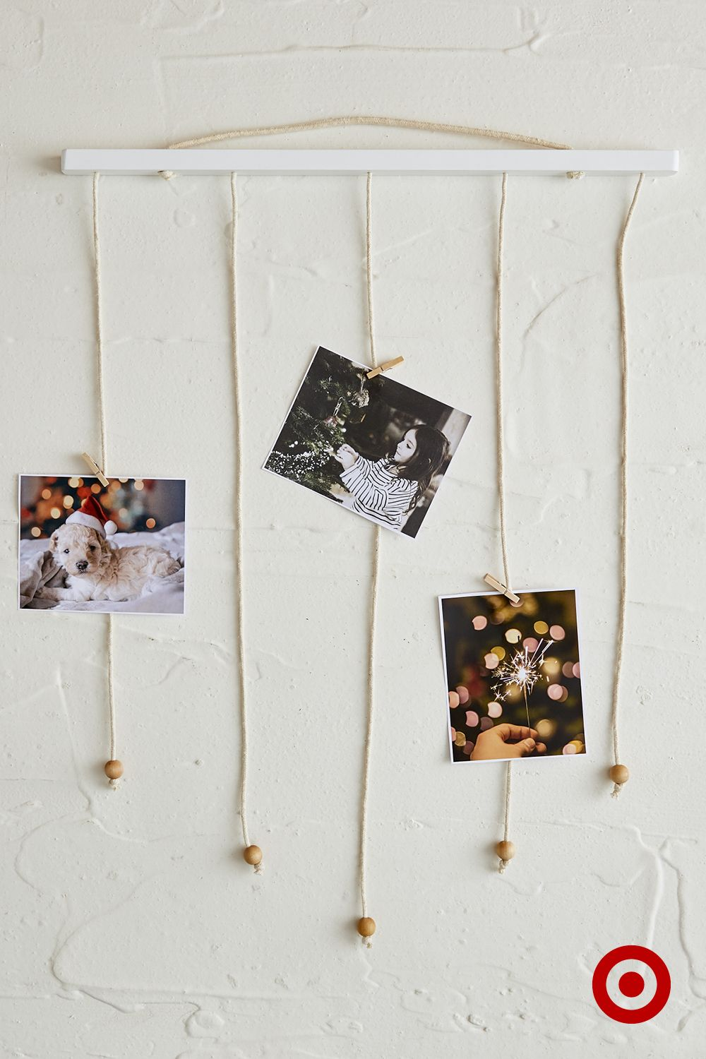 Vertical Clothesline For Hanging Photos Notes And All Your Favourite Memories Clothesline Picture Display Craft Activities For Kids Handmade Decorations