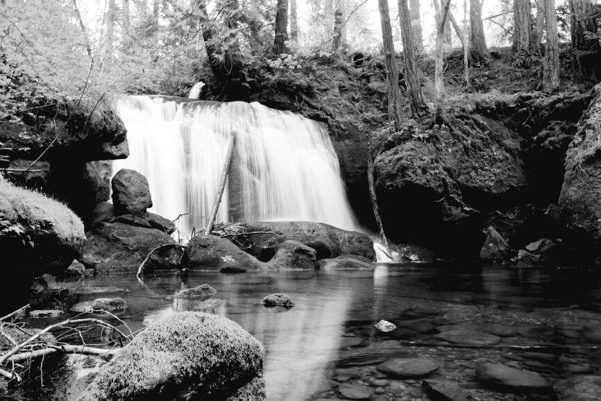 Waterfall at Whatcom Falls