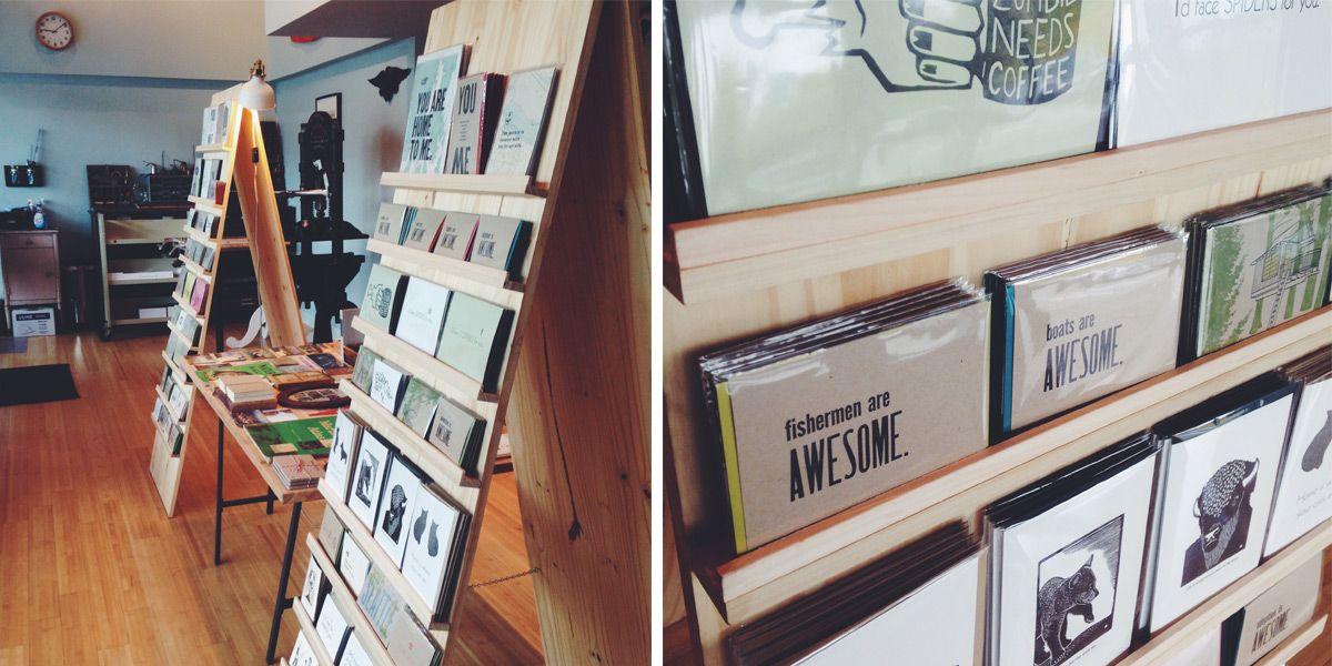 Diy Your Own Epic Wood Card Rack Wood Card Display Cards Greeting Card Display