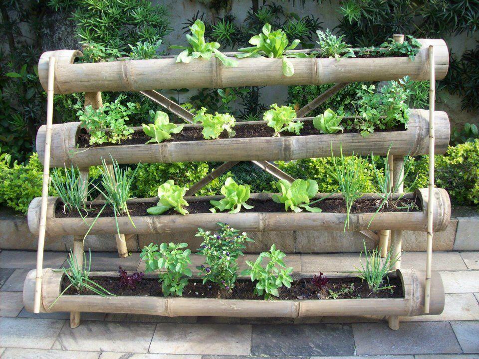 Horta suspensa quero jardim e horta em casa - Jardin hidroponico ...