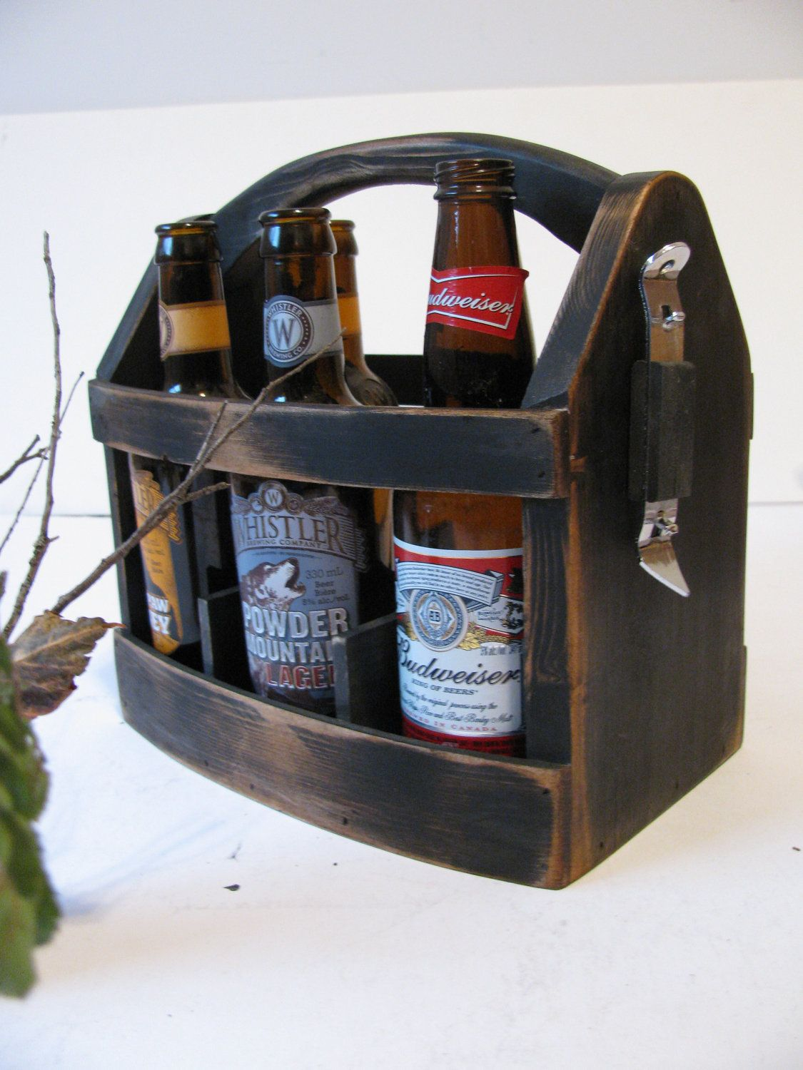 Pin By Kati Welt On Christmas Gift Ideas Beer Wood Beer Box Beer Box Crafts