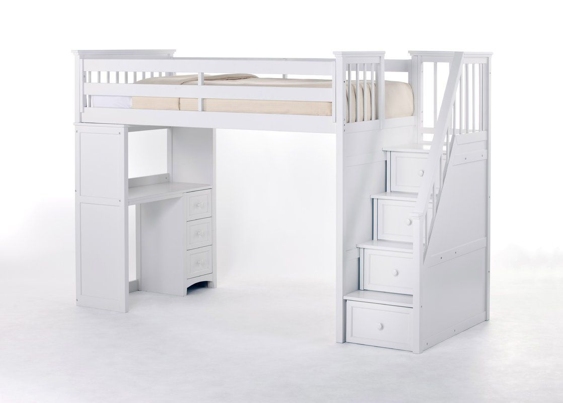 Cheap Loft Beds with Desk and Stairs - American Freight Living Room ...