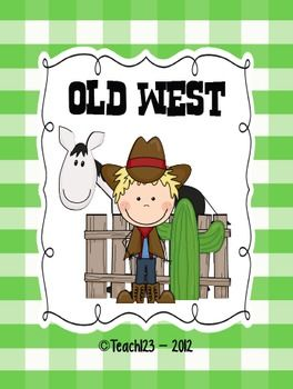 Old West - Aligned  Common Core Standards $