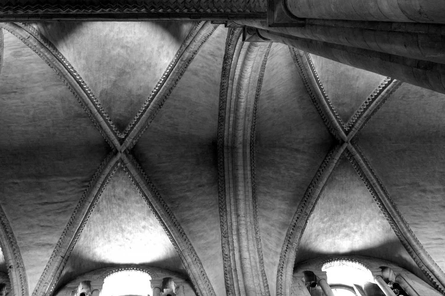 Nave vaults, Durham Cathedral #architecture #vaults