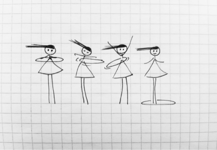 a simple form of happy 10 stick figure drawings that will make you