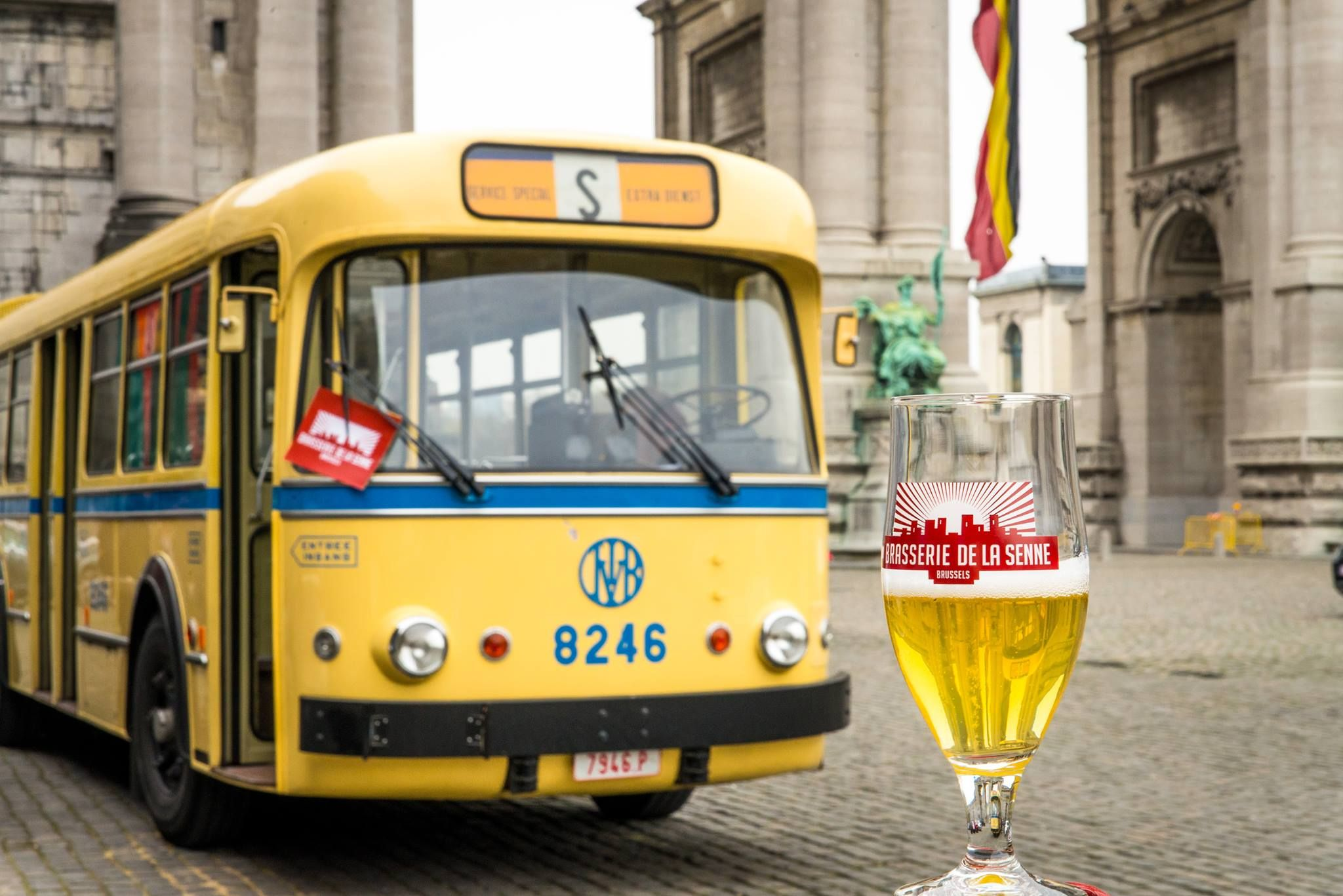 The Brussels Beer Bus is definitely THE coolest and funniest beer experience in Brussels!