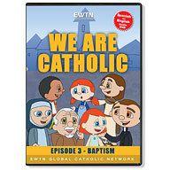 WE ARE CATHOLIC EPISODE 3 BAPTISM* KIDS ANIMATED ENGLISH & SPANISH DVD