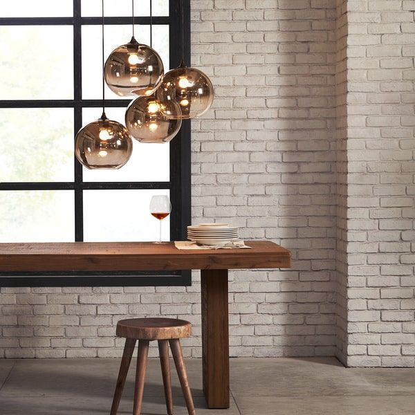 Wonderful This Gorgeous Light Is Simple And Versatile. The Bronze Finish Compliments  The Ombre Glass Globes Design
