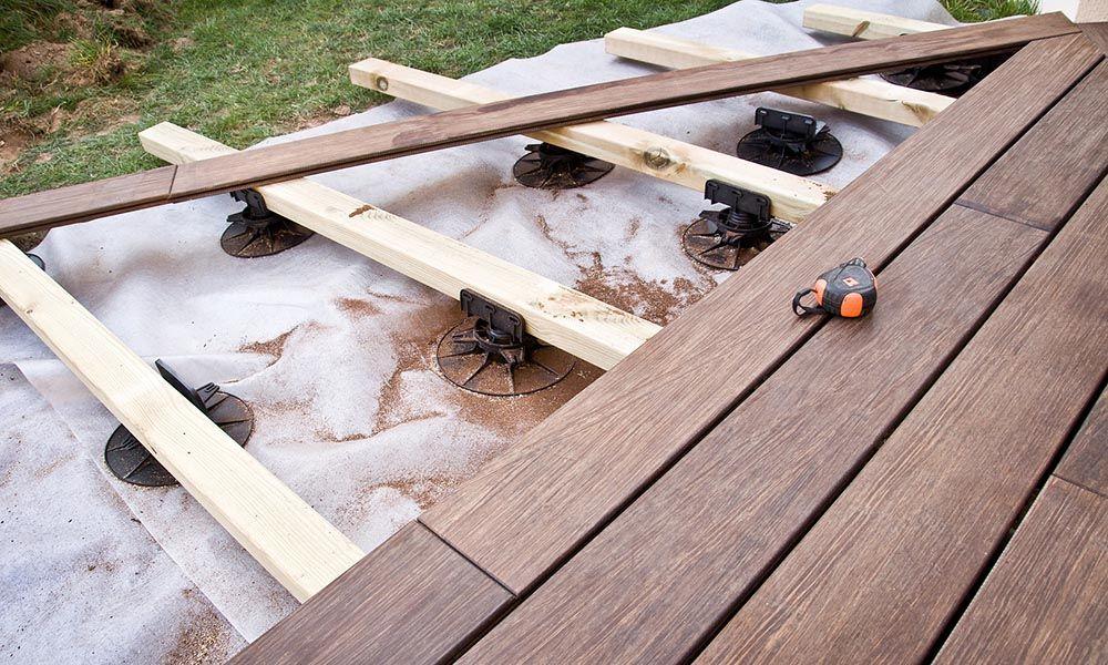 Faire une terrasse sur lambourdes    wwwtravauxbricolagefr - construire sa terrasse en bois soimeme