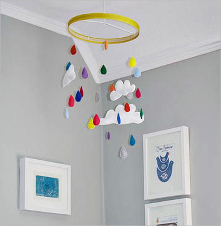 Charming Fun Adorable Batch Of Diy Baby Mobiles Rainbow  Amazing Ideas