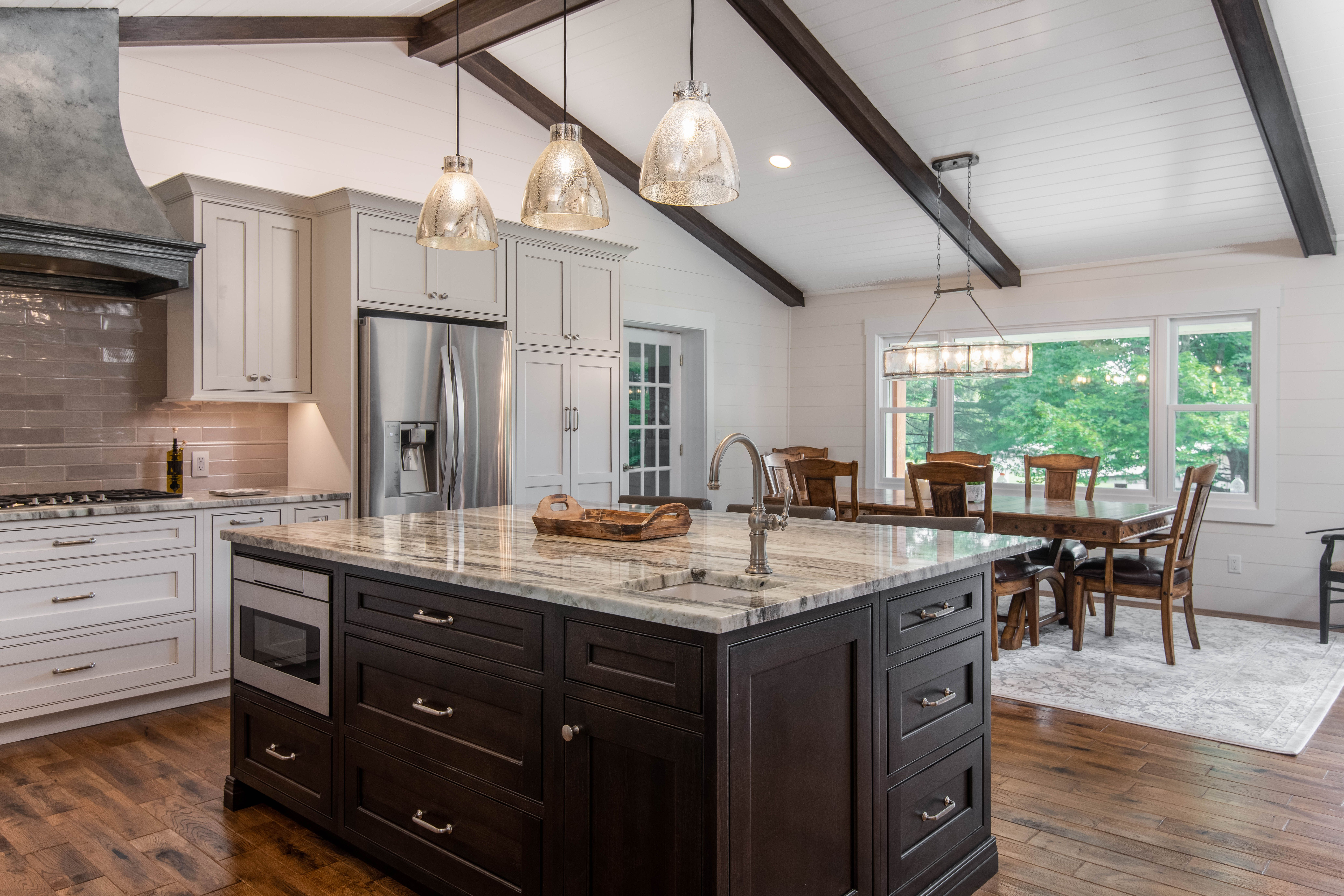 Incroyable Open Kitchen And Dining After A Kitchen Remodel By Judd Builders, Asheville,  NC.