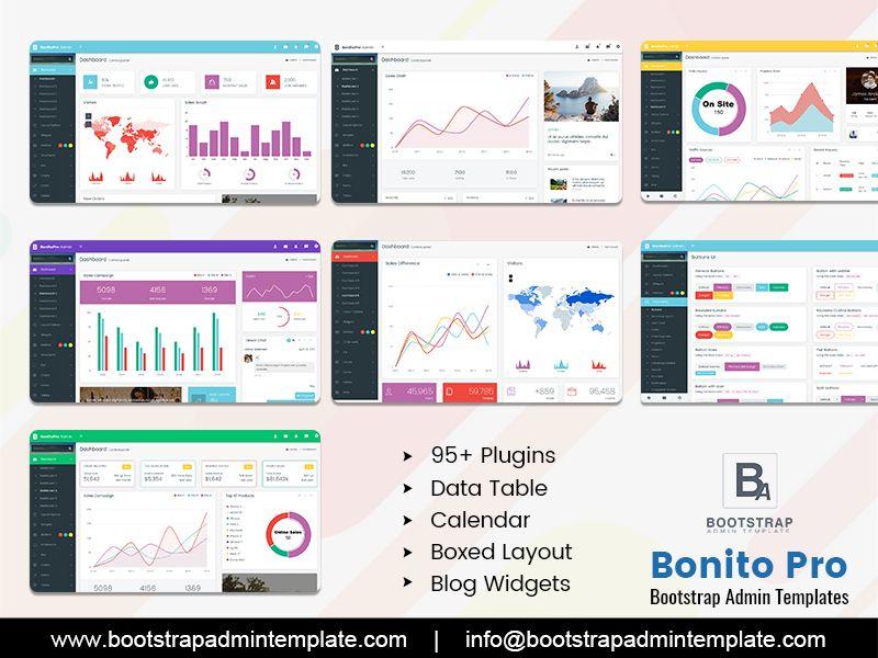 Bonito Responsive Bootstrap 4 Admin Templates Templates Ecommerce Template Dashboard Template