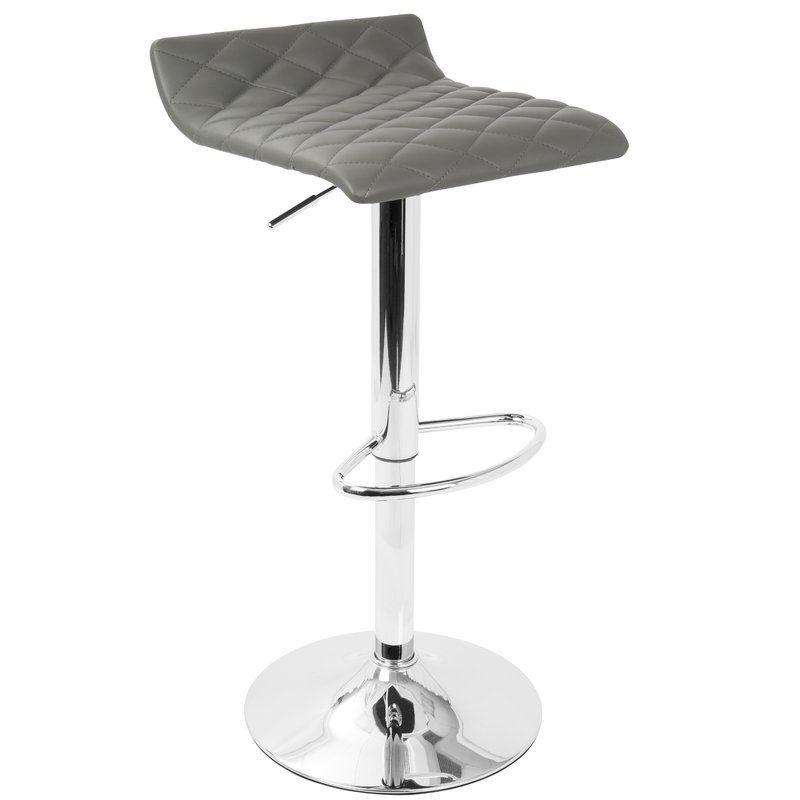 Magnificent Morgana Adjustable Height Swivel Bar Stool Bar Stools Inzonedesignstudio Interior Chair Design Inzonedesignstudiocom