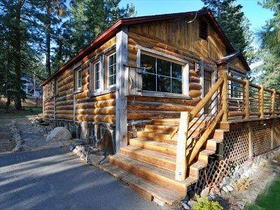 Custom Log Cabin Walking Distance To Beach