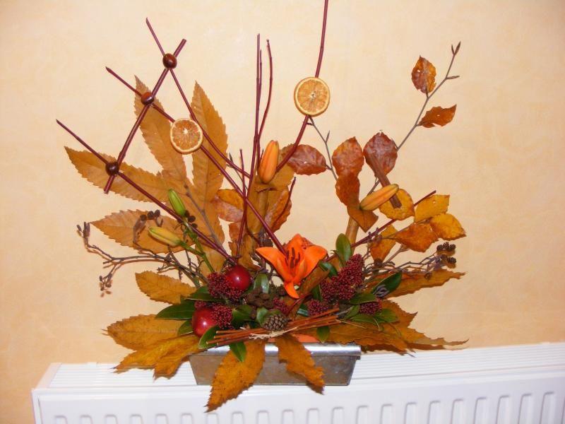 Charming bouquet d automne art floral art floral pinterest art floral commentaire et bouquet - Bouquet d automne ...