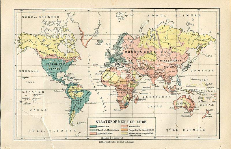 Wonderful free printable vintage maps to download mapas smbolos wonderful free printable vintage maps to download pillar box blue vintage world map gumiabroncs Images
