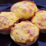 Leckere Low Carb Käse Schinken Muffins