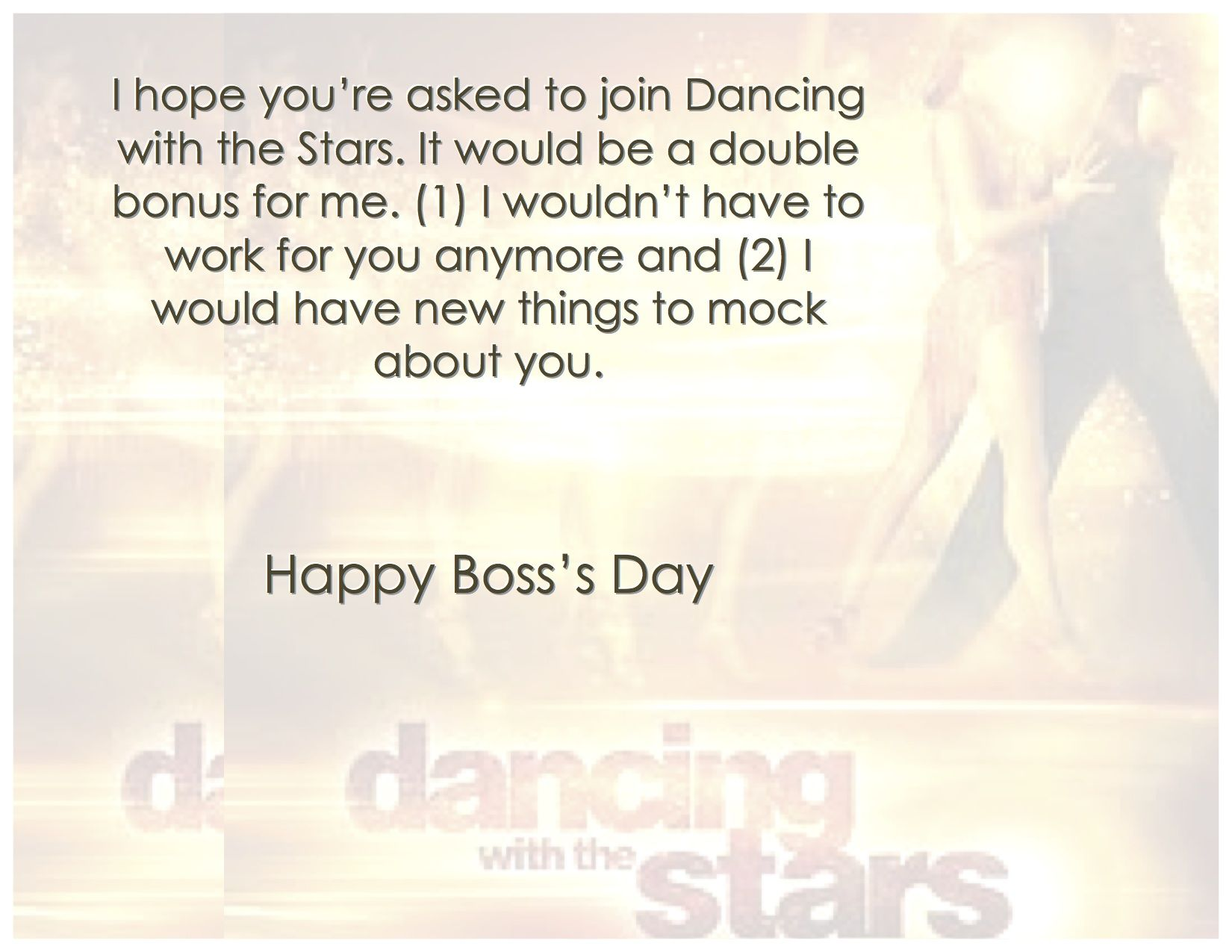 Five National Bosss Day Cards You Shouldnt Send Bosss Day Cards