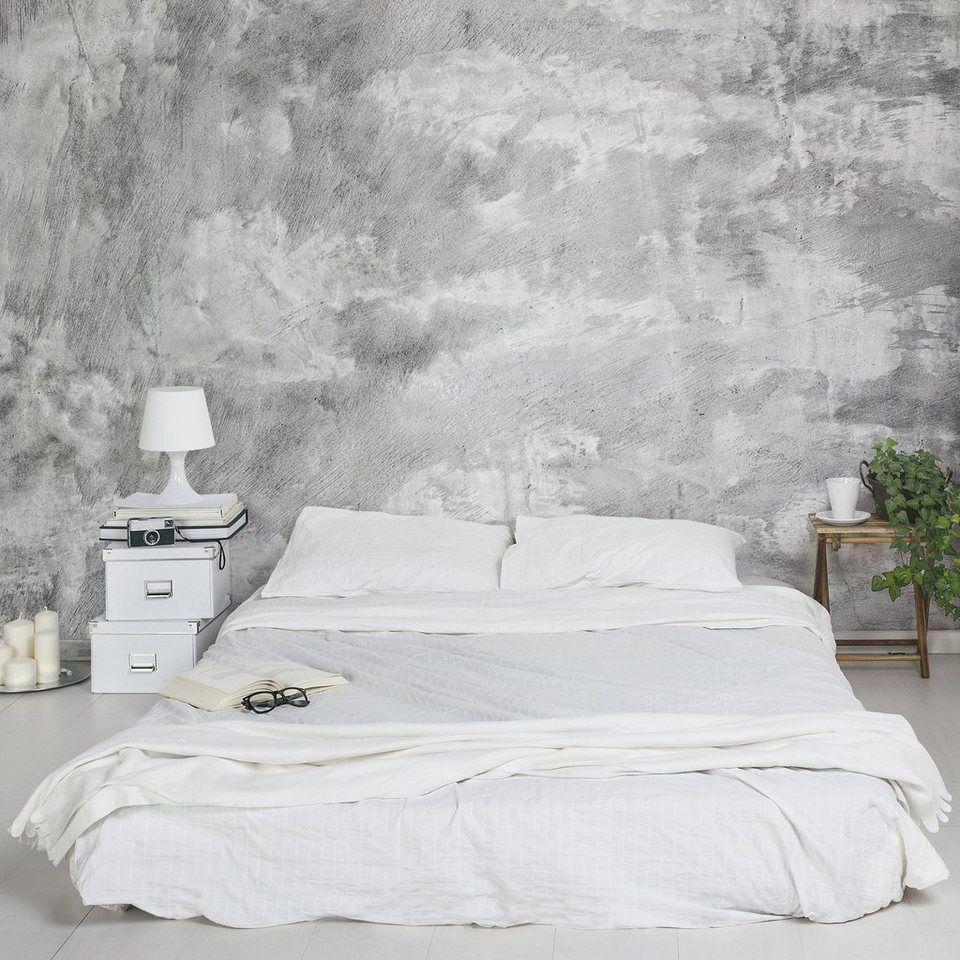bilderwelten vliestapete breit »industrie-look betonoptik« | mein