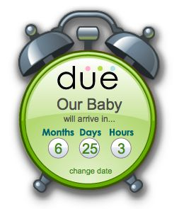 Pregnancy Countdown Clock   Pregnancy Countdown Clock