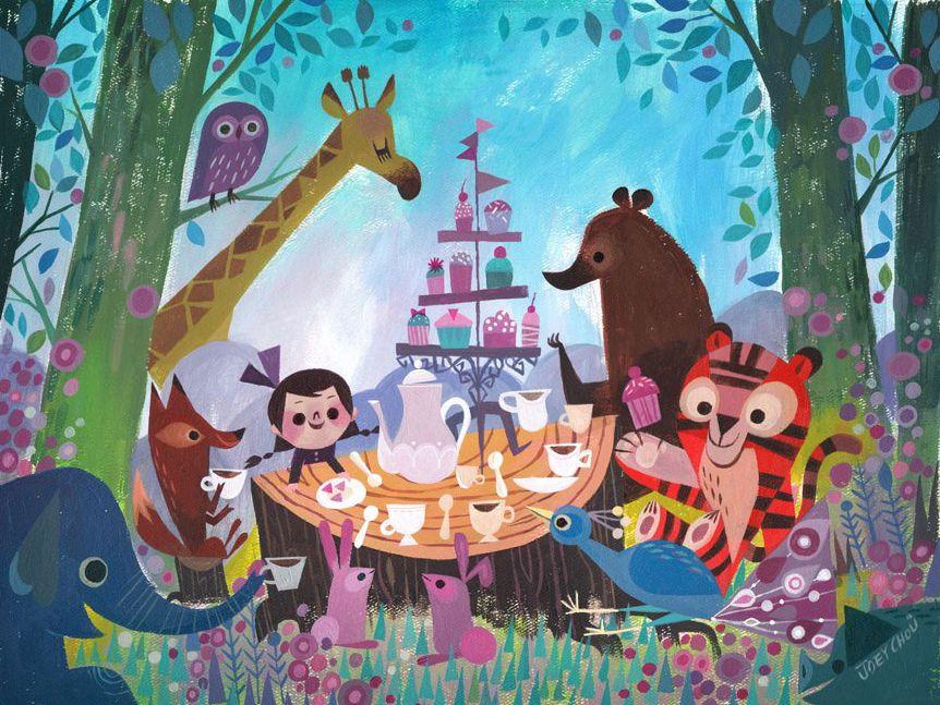 Image of Tea Party    Joey Chou