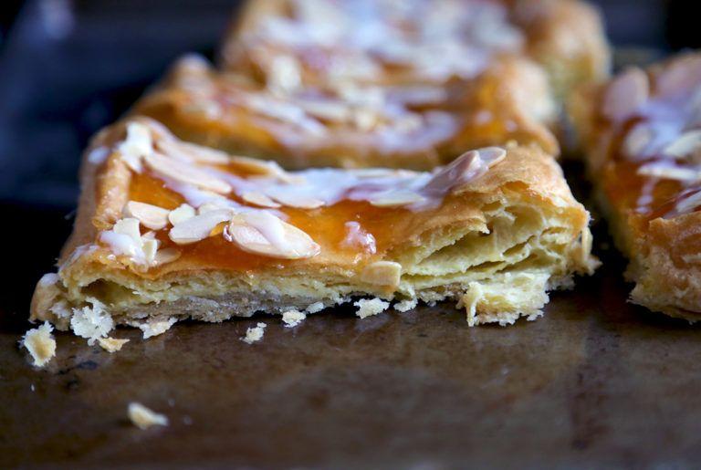 Almond puff loaf via kingarthurflour recipes loaf
