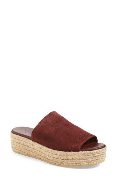 ebecaab19bd VINCE  Solana 3  Espadrille Platform Slide Sandal (Women).  vince  shoes   sandals