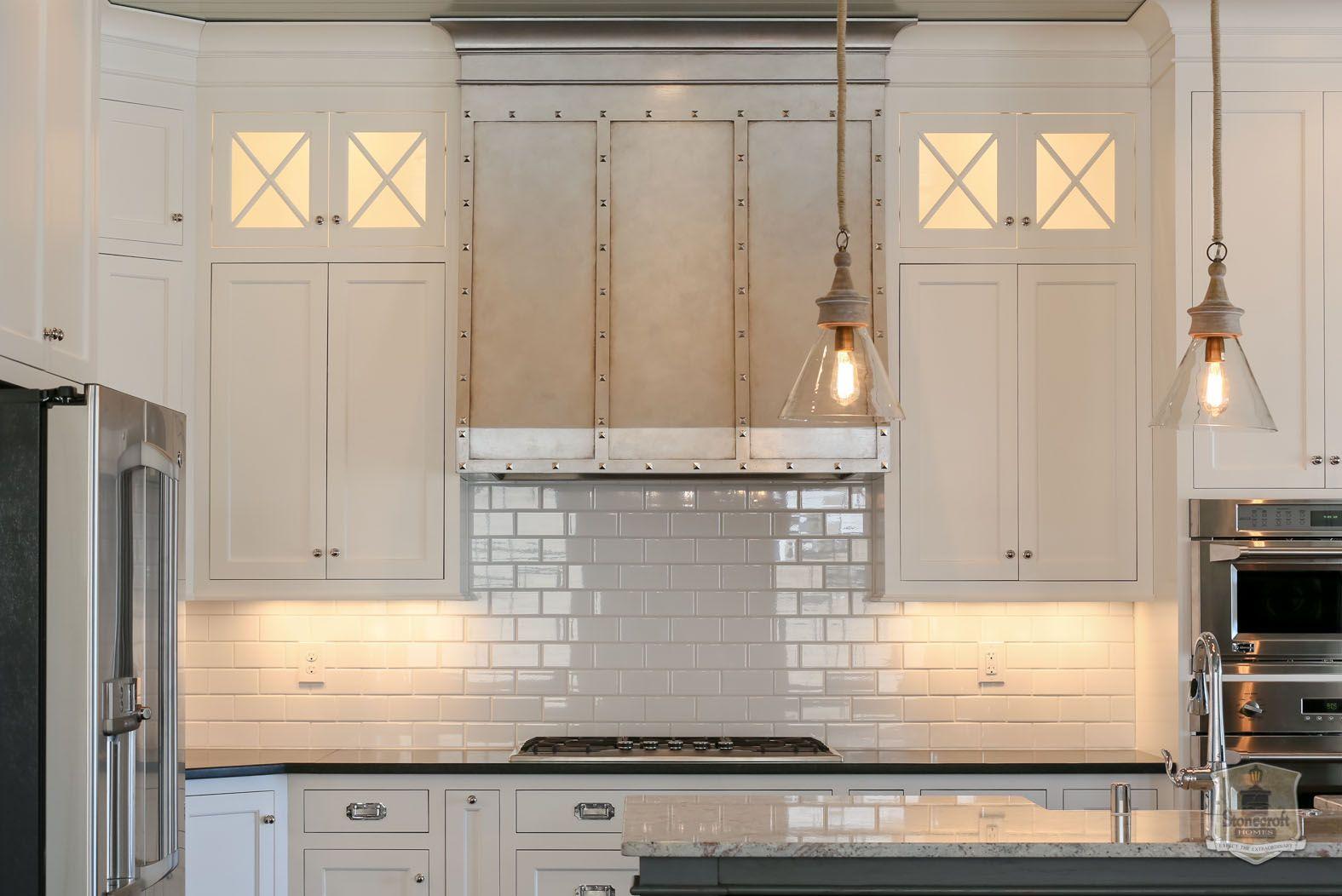Stonecroft Homes The Gq Louisville Custom Builder Shaker Style Kitchen Cabinets Shaker Style Kitchens Kitchen Hoods