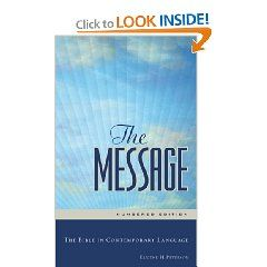 The Message Bible In Contemporary Language Eugene H Peterson 9781576839164 Amazon Com Book Read Of James I A Translation Or Paraphrase