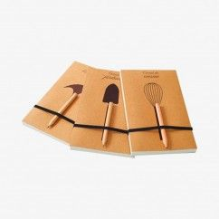 Carnet de jardinage et crayon bois, 100 pages - La Reine Mère