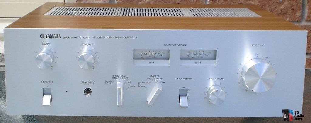 HOLD*** Yamaha CA-410 Stereo Integrated Amplifier + Owner's