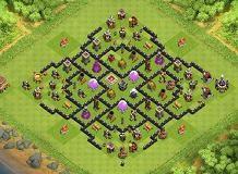 Farming Base Layout Coc Th 8 5