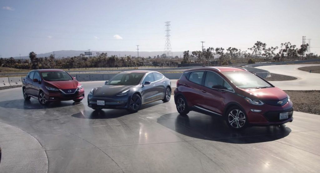 Tesla Model 3 Vs Chevrolet Bolt Vs Nissan Leaf Which Ev Is The