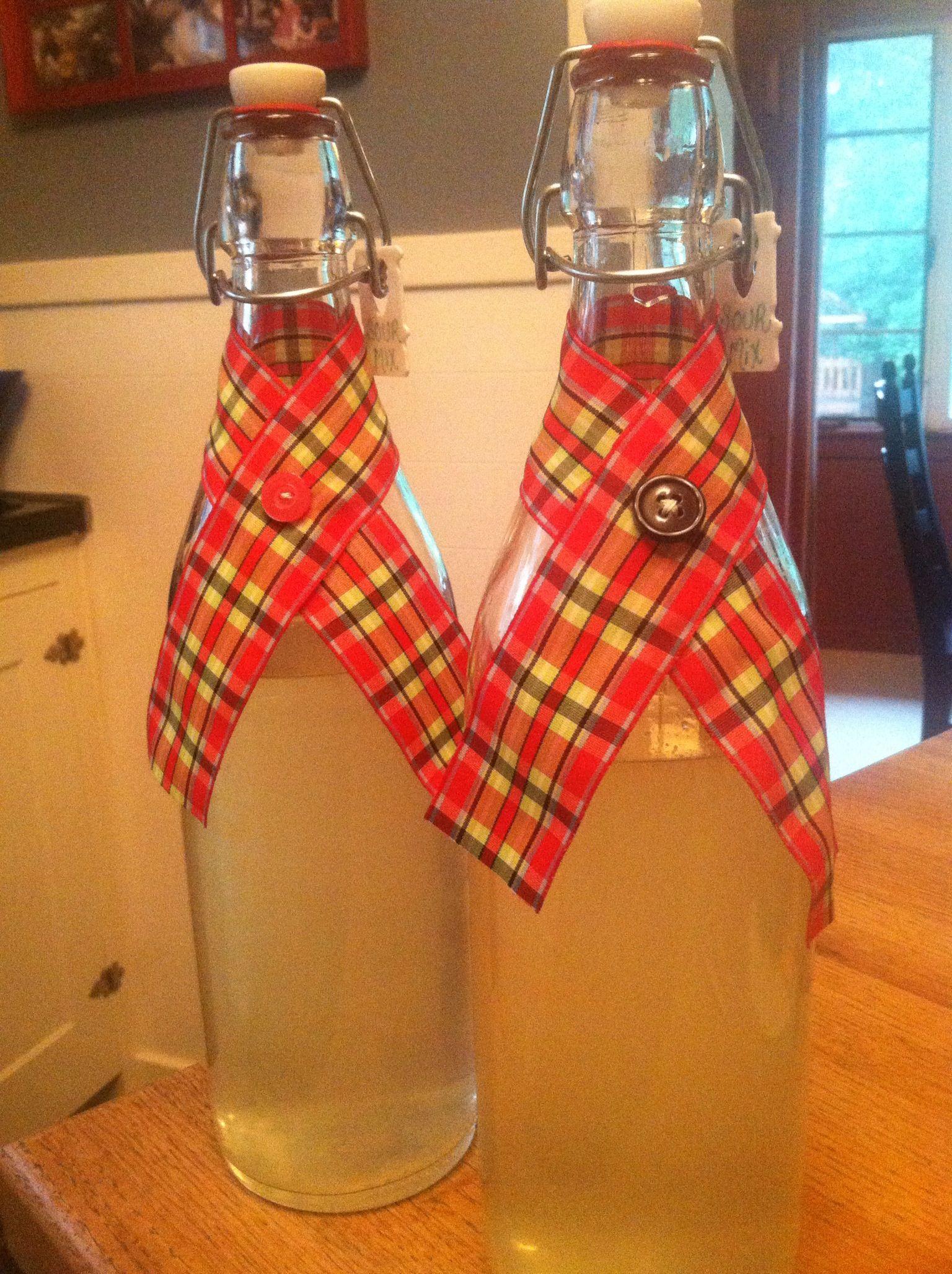 Host/hostess gifts. Homemade sour mix in reusable bottle ...
