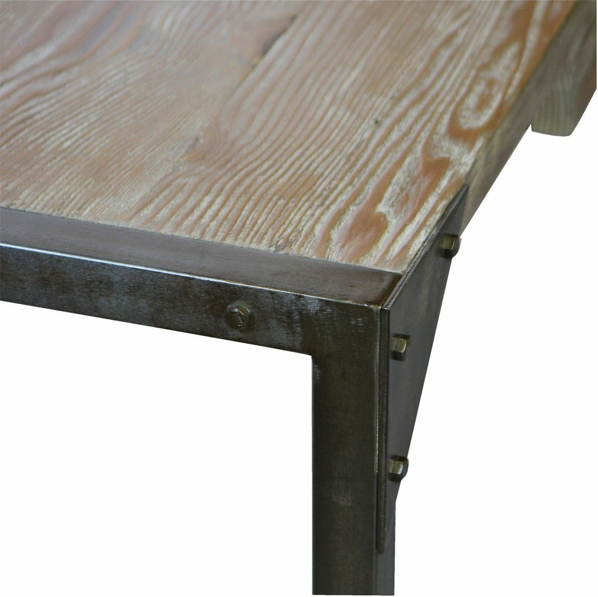 Reclaimed Wood Dining Table Made From Old Homes Modern