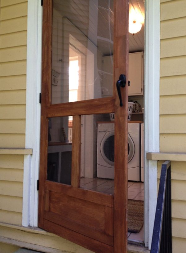 Screen Door Ben Made For Back Of House
