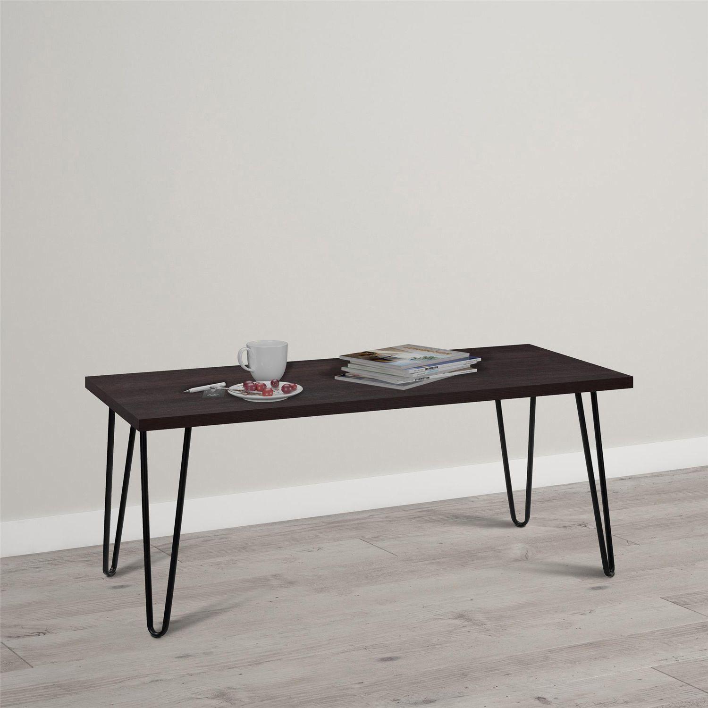 Ashton Retro Espresso Coffee Table
