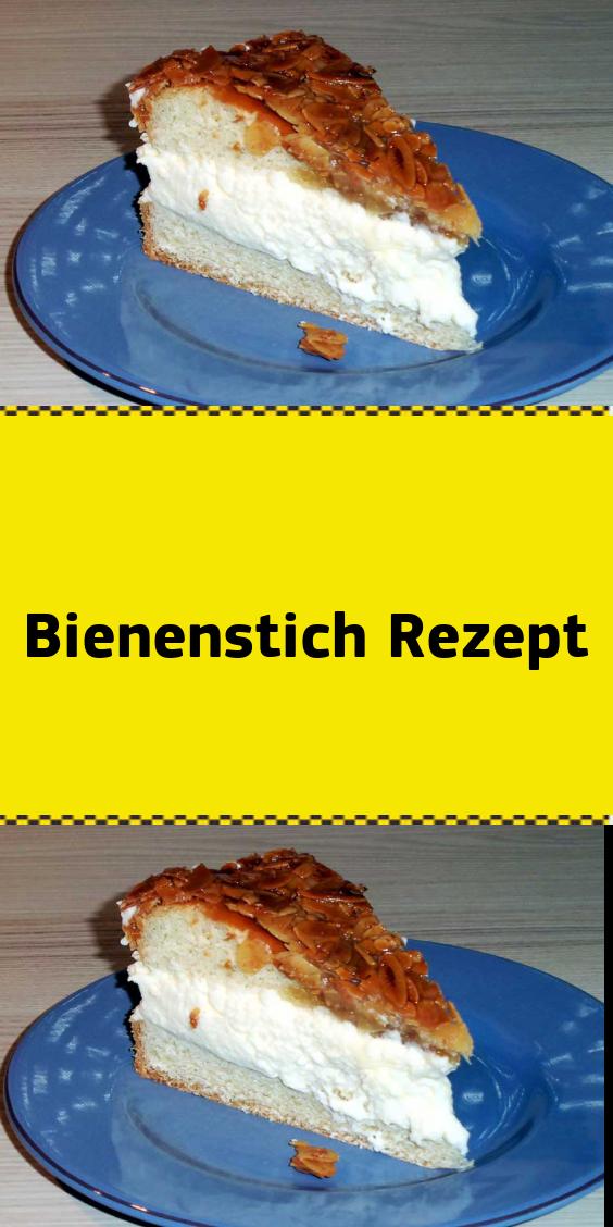 Bienenstich Mit Vanillecreme Und Karamellisierten Mandeln Backzeit Ca 40 Minuten Kalorien Pro Stuck Bienenstich Ca 520 Cal Dies Ist Food Desserts Cheesecake