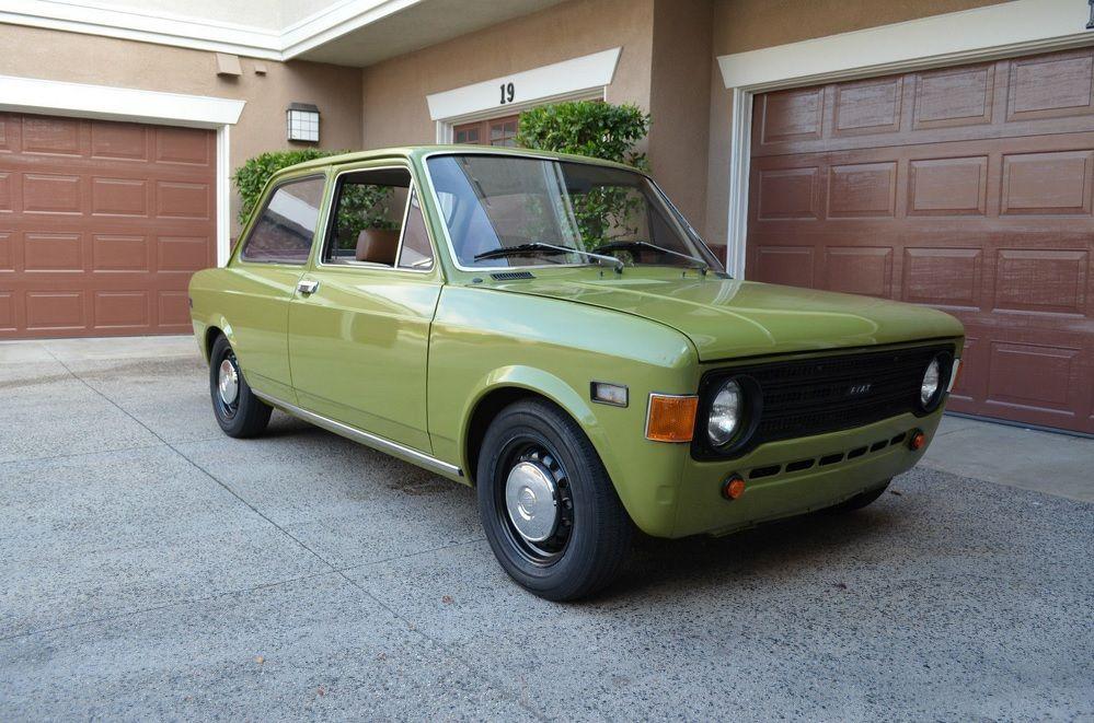 Fiat 128 Coupe In Flight Fiat 128 Fiat Fiat Cars