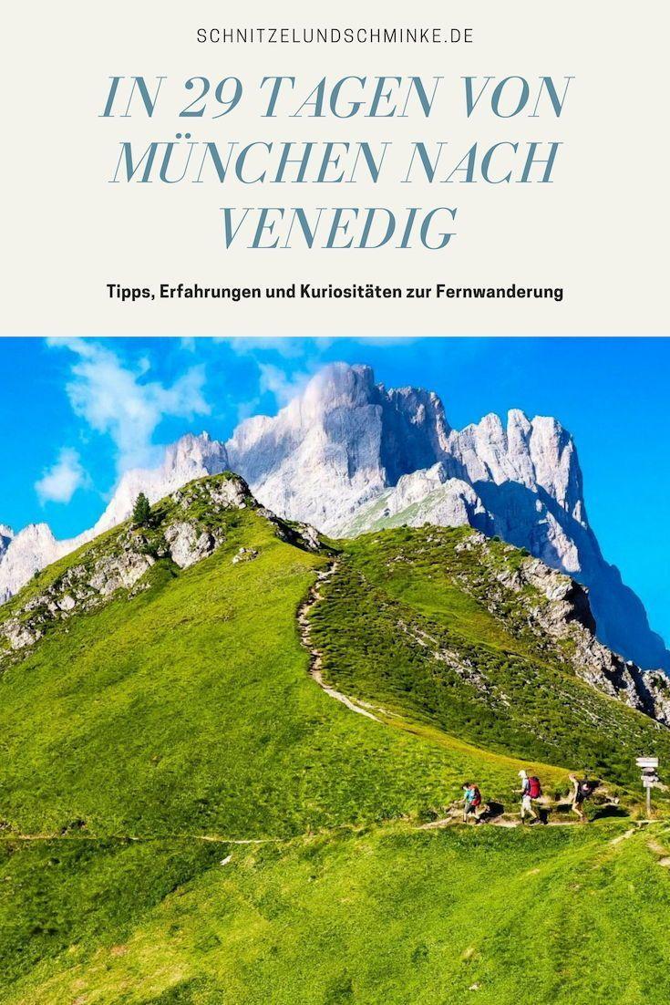 Traumpfad München-Venedig: Fernwanderung über die Alpen -   - #alpen #die #fernwanderung #italytravel #letstravel #munchen #MünchenVenedig #traumpfad #travelmugdiy #über #venedig
