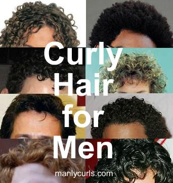 The Essential Guide to Types of Curly Hair for Men | Curly hair ...