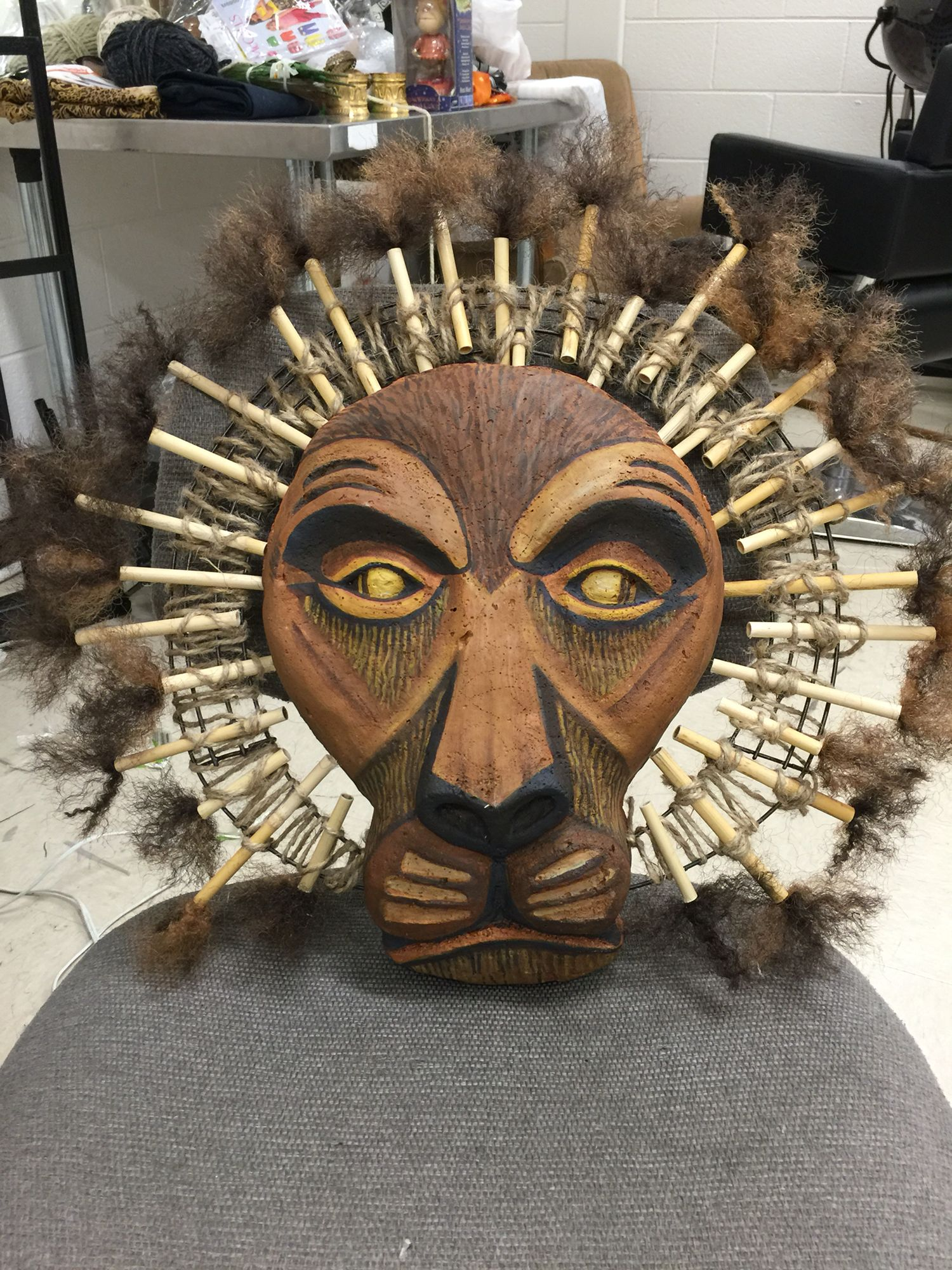 Mufasa Headpiece Costumestodo Broadwaycom Quilts In