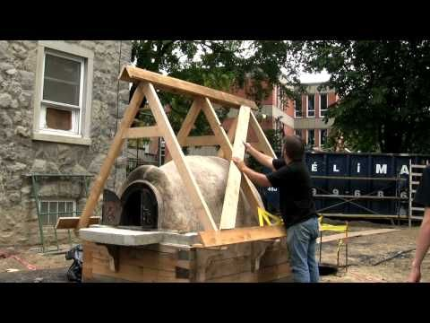 Construction d\u0027un four à pain par Jean Laberge - YouTube Ovens And