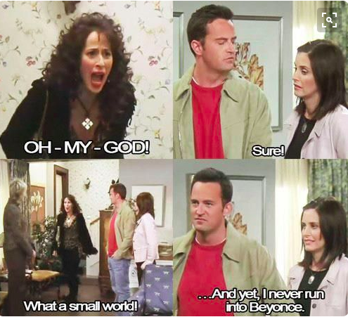 When He Found Out That Janice Might Be The New Next Door Neighbor Friends Tv Friends Episodes Friends Tv Quotes