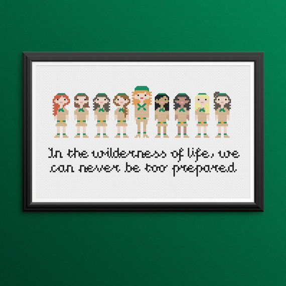 Troop Beverly Hills Quotes: Troop Beverly Hills Cross Stitch Pattern PDF/Instant