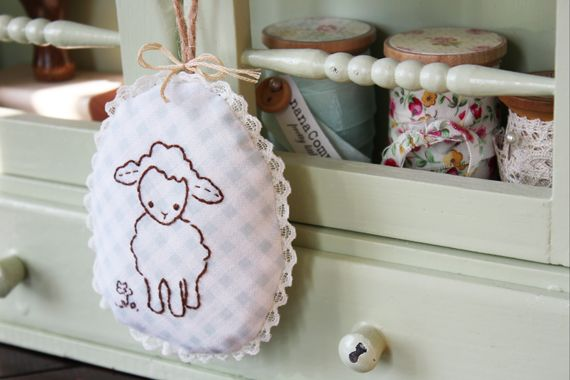 DIY Wee Brown Bunny's Friends: Chick and Lamb | nana Company - eHow