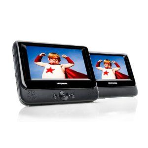 Twin 7 Portable Dvd Player With Car Kit Perfect For Travelling